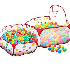 jeux de cuisine pour bébé piscine à balles pour enfants tente de jeu bébé portable océan boule
