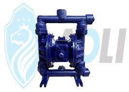 High Suction Lift Water Pump Cast Iron Pneumatic Diaphragm Pump Dual Diaphragm Air Pump With