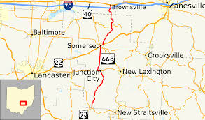 State Map Of Ohio by Ohio State Route 668 Wikipedia