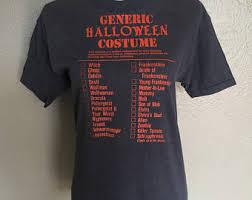 Halloween Costume Shirt Vintage Halloween Shirt Etsy