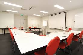 modern meeting room with rectangular white wooden conference table modern meeting room with rectangular white wooden conference table ballard designs office corporate office