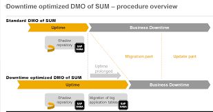 dmo downtime optimization by migrating app tables during uptime