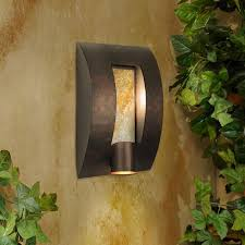 Garden Wall Lights Patio Terrace Garden Amazing Garden Wall Light Idea Decorated With