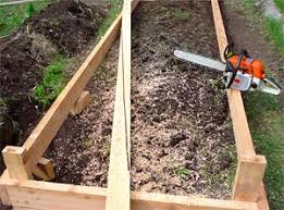 How To Install A Raised Garden Bed - eartheasy bloghow to build a raised garden bed on sloping uneven