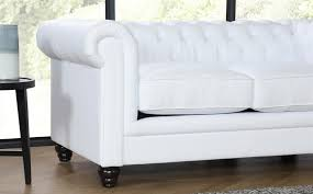 Chesterfield White Leather Sofa Hton White Leather Chesterfield Sofa 3 2 Seater Only 899 98