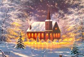 winter winter snow country trees churches xmas lights attractions