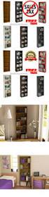Ebay Bookcase by Bookcases 3199 Wood Bookcase 5 Shelf Adjustable Bookshelf Storage