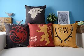 game of thrones home decor ice fire game of thrones dragon pillow cushion linen pillowcase