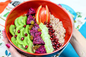 Fruit Bowls by Exotic Fruit Oatmeal Bowl Colorful Recipes