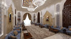 moroccan majlis on behance interiors arabic moroccan pinterest