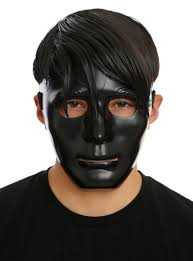 purge mask spirit halloween black mask topic