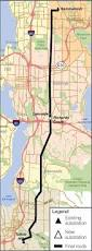 Map Of Redmond Oregon by Bellevue U0027s Puget Sound Energy Chooses Existing Corridor For