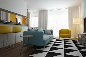 Modern Black And White Rugs 23 Modern Living Rooms Adorned With Black And White Area Rugs