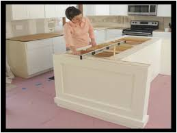 how to install kitchen island how to install a kitchen island with cabinets fresh build a diy