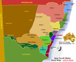 map of new south wales new south wales regions map nsw