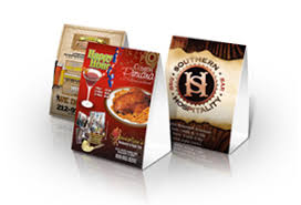 Table Tent Cards Marketing Products