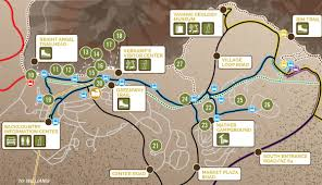 Map Grand Canyon Guide To Grand Canyon Village On The South Rim My Grand Canyon Park