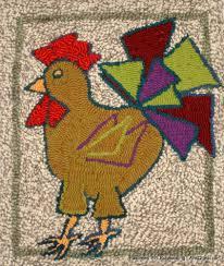Chicken Rug Rug Hooking U2014 Artsquest