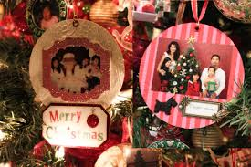 how to make photo ornaments and snow globes on recycled
