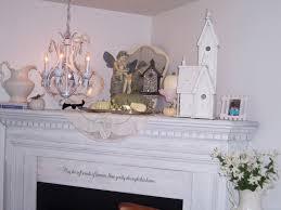 Shabby Chic Fireplace Mantels by Two Cottages And Tea Shabby Chic Mantel