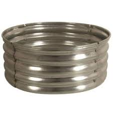 Firepit Rings 30 In Galvanized Pit Ring Ds 18727 At The Home Depot