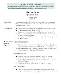 resume template administrative w experienced resumes administrative resume sle lifespanlearn info