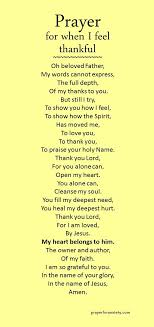 a prayer of thanksgiving to god prayers