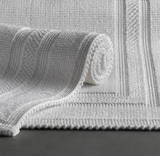 Restoration Hardware Bath Rugs Woven Bath Rug