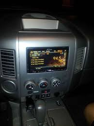 nissan armada dvd player issues 2004 nissan titan double din install step by step nissan titan forum