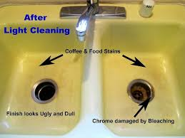 Bathroom Stain Remover Adorable 70 Bathroom Sink Yellow Stain Inspiration Of Removing
