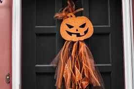 diy halloween wreath u2013 dollar store door decor