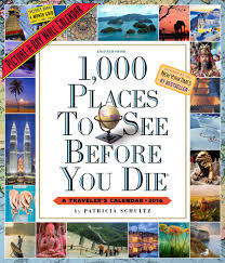 1 000 places to see before you die picture a day wall calendar