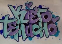 imagenes k digan te amo lesly graffitis de te quiero arte con graffiti