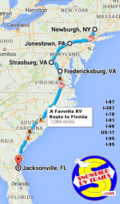 what is the best east coast rv route to florida hop aboard as