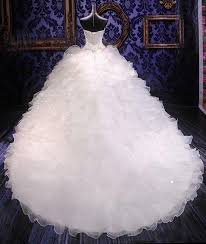 wedding poofy dresses lovelybride noble beaded organza wedding dresses bridal