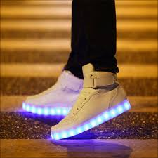 light up shoes size 12 saturn fluo shoes