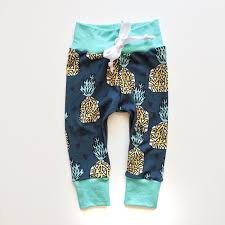 pineapple print baby boy leggings the baby bump aka get kids to