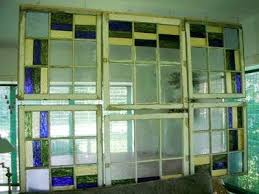 look diy stained glass room divider apartment therapy