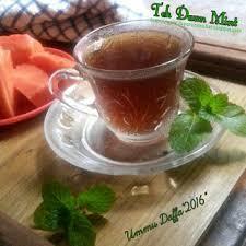 Teh Mint teh daun mint resep resep masakan