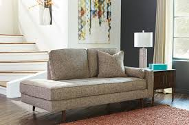 Contemporary Chaise Lounge Contemporary Chaise Lounge Light Brown Sam Levitz Furniture