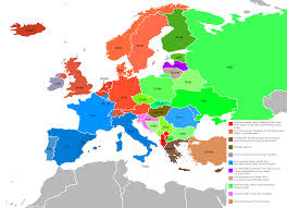 Ural Mountains On World Map by Etymology Map For The Word Bread In Europe Etymologymaps