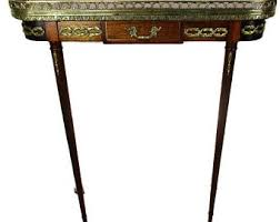 Wall Console Table Vintage Console Table Etsy