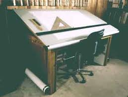 Traditional Pencil Drafting Kesign Design Consulting - Designer drafting table