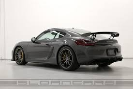 2016 Porsche Cayman Gt4 Agate Grey Black 184 Miles Sloan Cars