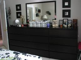 Ikea Bedroom Dresser Fascinating Dresser Ideas For Small Bedroom With Malm Drawer Black