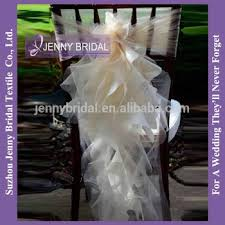 Cheap Chair Sashes C147 Cheap Cream Organza Pre Tied Chair Sashes Buy Pre Tied