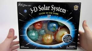 Glow In The Dark D Solar System YouTube - Hanging solar system for kids room