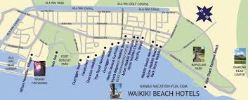 map of waikiki waikiki hotels a local resident s perspective