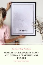 95 best beautiful map posters images on pinterest design your