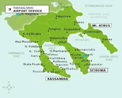 Thessaloniki Greece Map by In Focus Halkidiki Greece By Nana Boussia And Pavlos